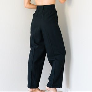 Vintage High Tapered Trousers